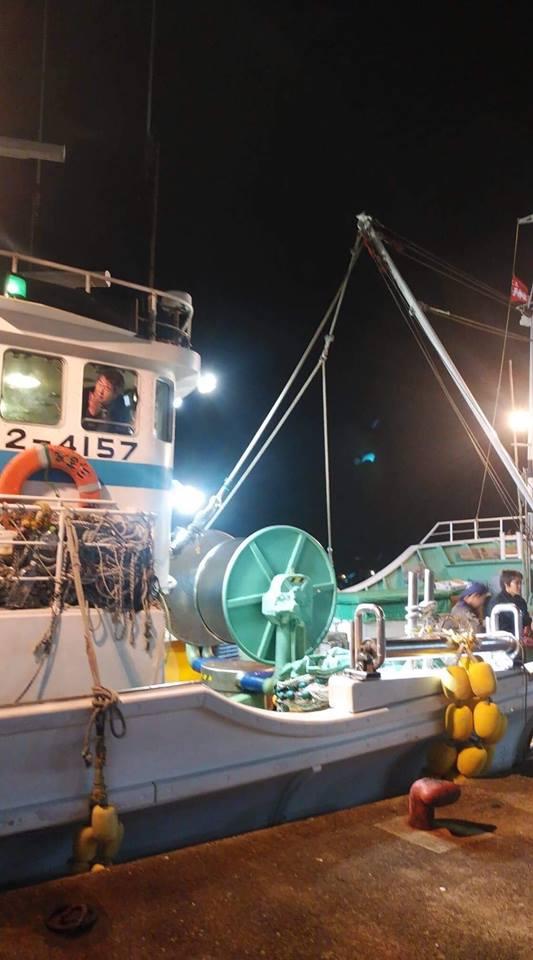 「津居山の蟹」漁船団の出陣