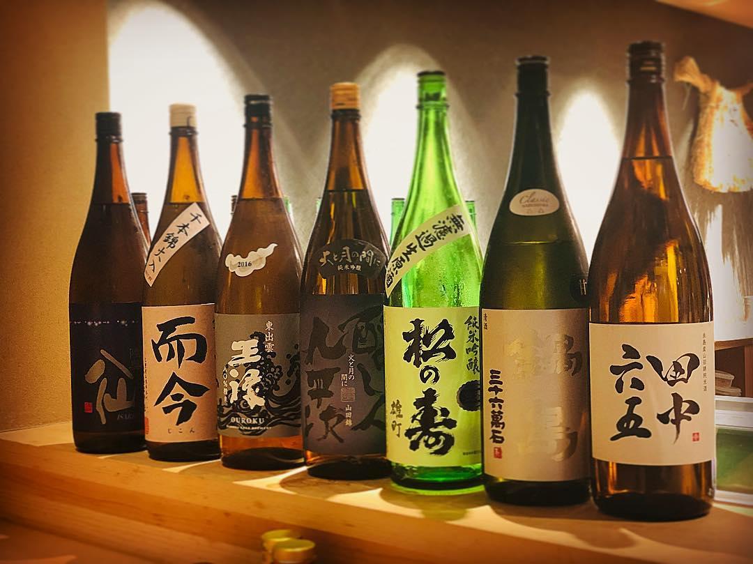 今期の日本酒飲み納め