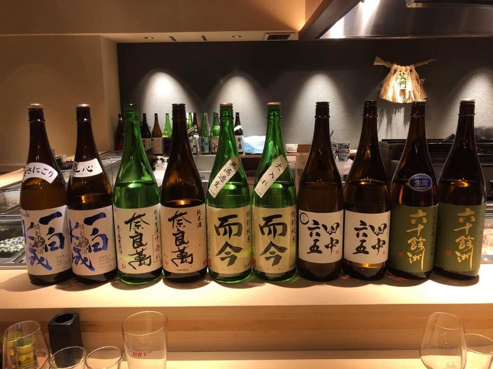 月一定例日本酒会