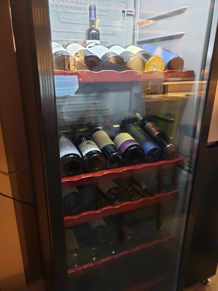 ワインも充実しています